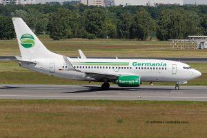 Germania Boeing 737-700 (Germany)